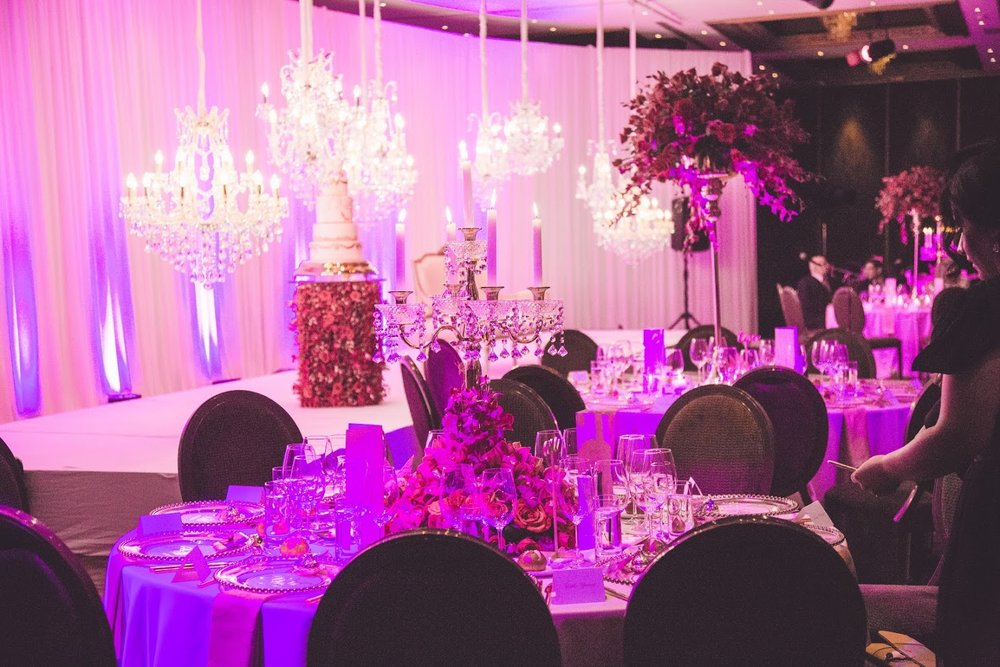 Ornate tables | Astra bride Basma | Sottero & Midgley Lovai | Langham Hotel | Levien & Lens Photography |