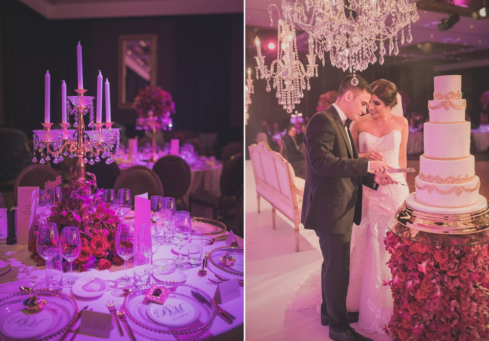 Langham Great Room | Astra bride Basma | Sottero & Midgley Lovai | Langham Hotel | Levien & Lens Photography |