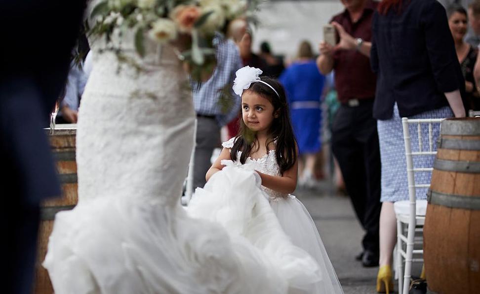 Down the aisle | Astra bride Natasha | Maggie Sottero Paulina |Villa Maria | Adam Popovic Photographer