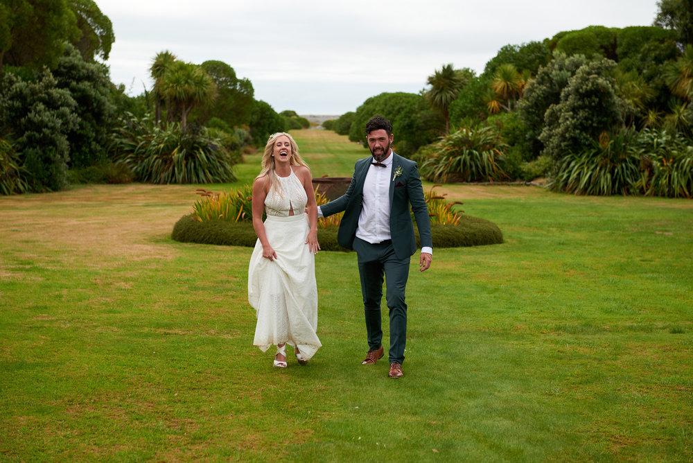 Paripuma garden | Astra Bride Julia | Sottero & Midgley Nicole | Cloudy Bay | Marlborough wedding photographer |