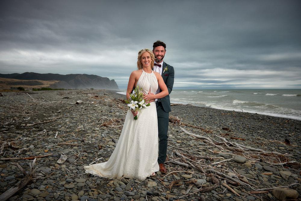 Shorline | Astra Bride Julia | Sottero & Midgley Nicole | Cloudy Bay | Marlborough wedding photographer |