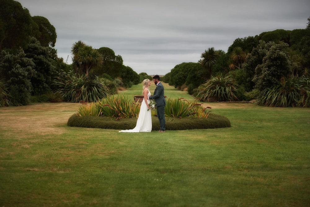 Majestic gardens | Astra Bride Julia | Sottero & Midgley Nicole | Cloudy Bay | Marlborough wedding photographer |
