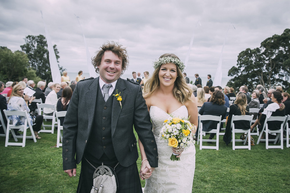 The happy couple | Lucy Brophy | Maggie Sottero Chesney | The Bungalow | Aimee Kelly Photography |