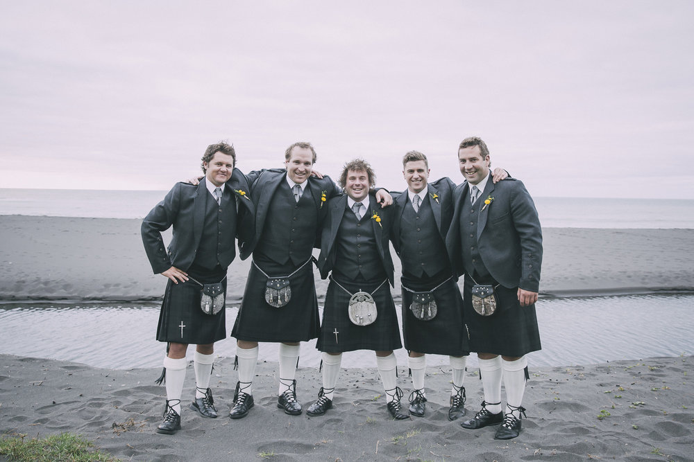 Kilts | Lucy Brophy | Maggie Sottero Chesney | The Bungalow | Aimee Kelly Photography |