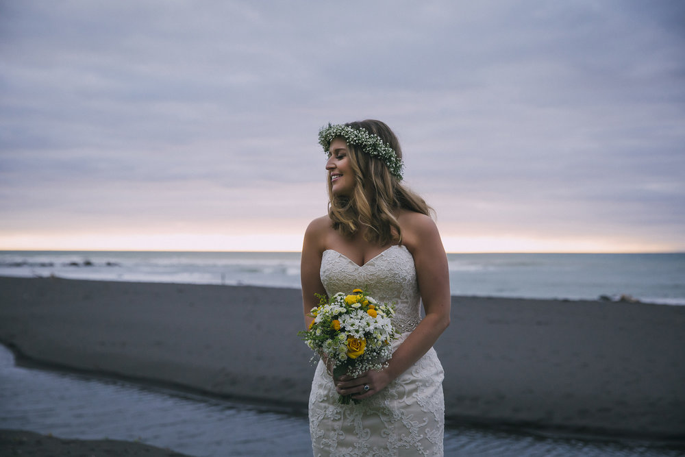 Beach scape | Lucy Brophy | Maggie Sottero Chesney | The Bungalow | Aimee Kelly Photography |