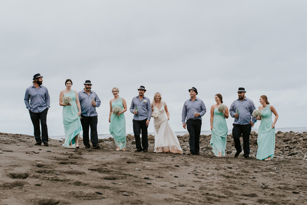 On the beach | Astra Bride Talei | Maggie Sottero Ettia | The Bungalow Taranaki | Abi Hackling Photography |