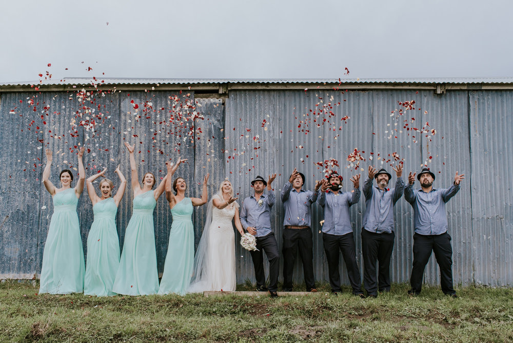 Fun shot | Astra Bride Talei | Maggie Sottero Ettia | The Bungalow Taranaki | Abi Hackling Photography |