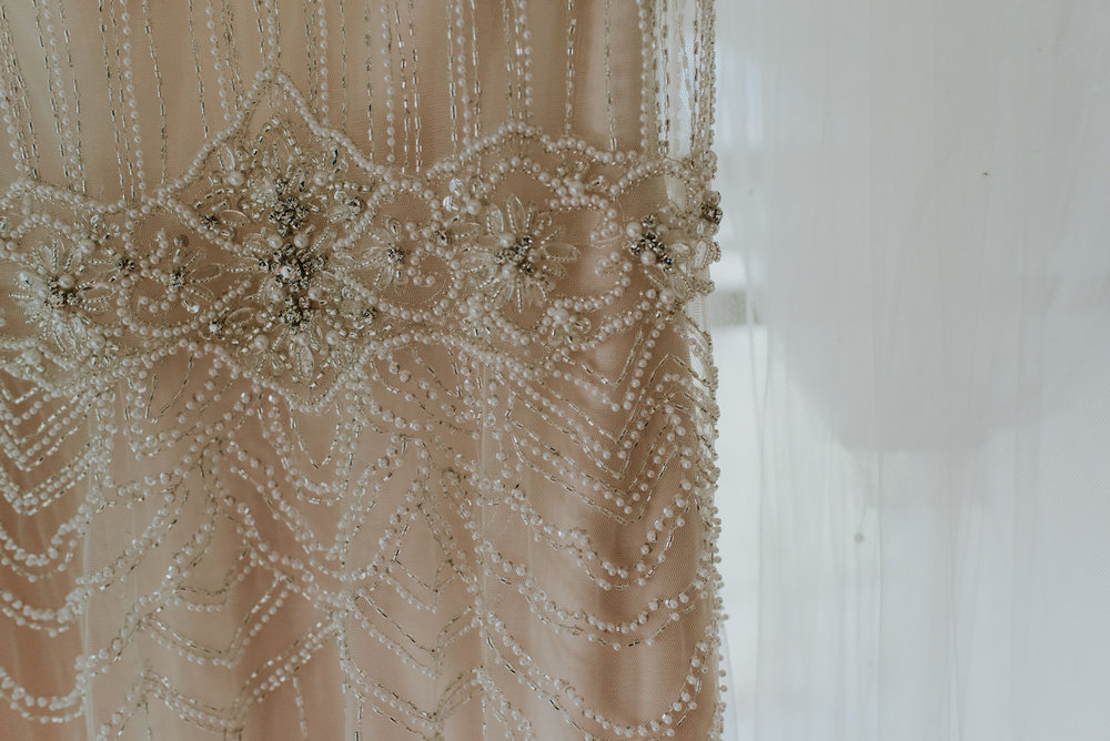 Oh that beading | Astra Bride Talei | Maggie Sottero Ettia | The Bungalow Taranaki | Abi Hackling Photography |