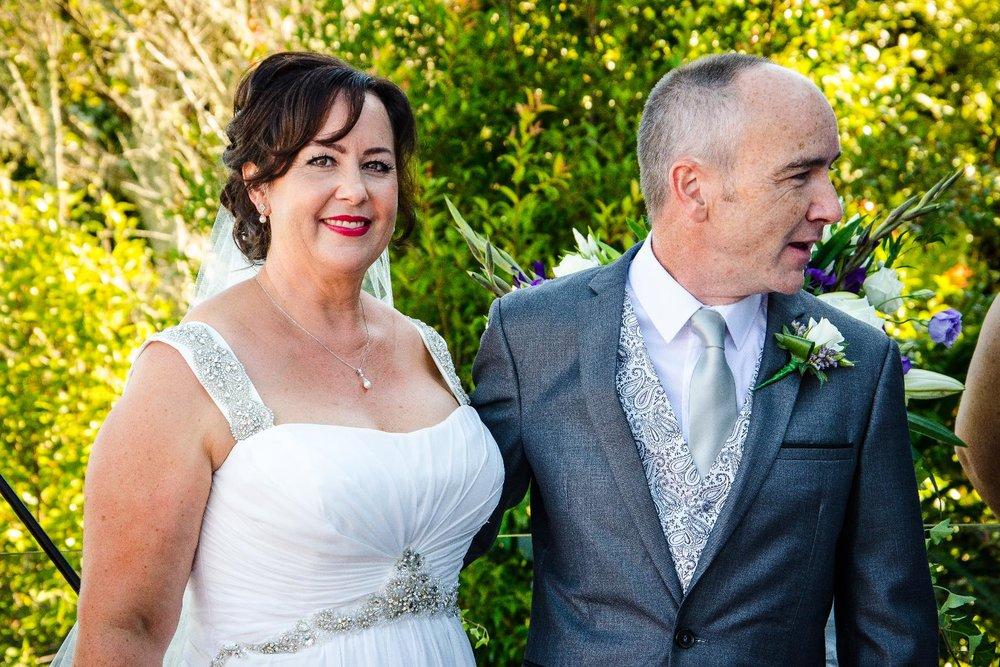 Astra bride Trish | Christina Rossi 4166 | Auckland home wedding |