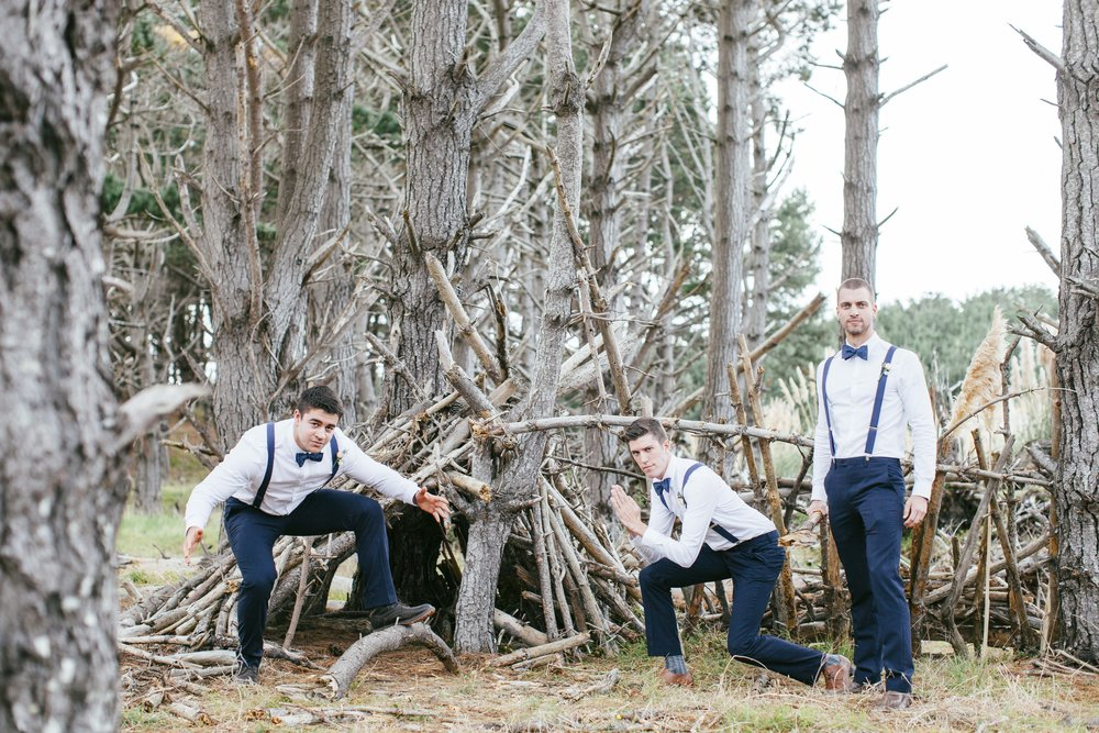 Boys having some fun | Astra Bride Emma | Upper Room Church | Maggie Sottero Melinda | Wonder Ferris photography |