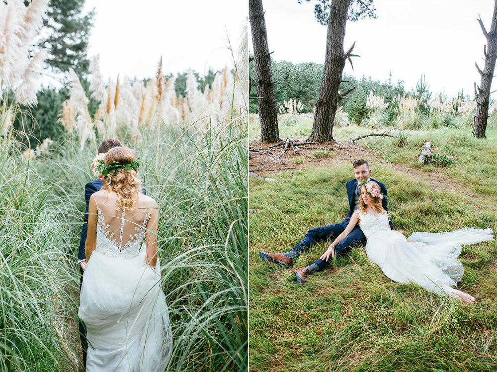 New Zealand west coast beach wedding shots | Astra Bride Emma | Upper Room Church | Maggie Sottero Melinda | Wonder Ferris photography |