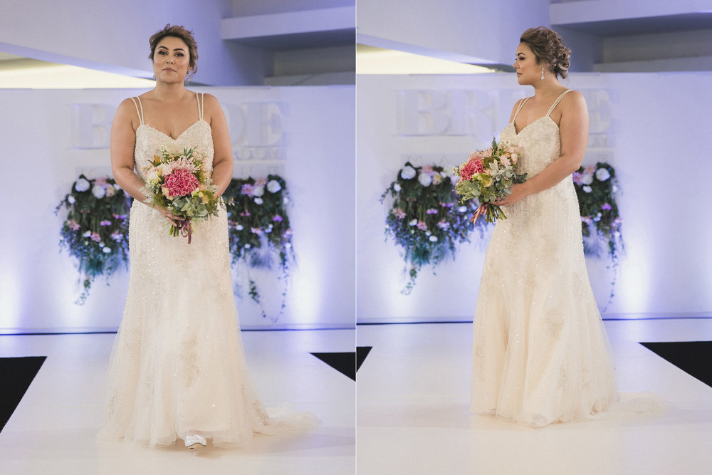 1716 Curvy model Bride and Groom catwalk.jpg