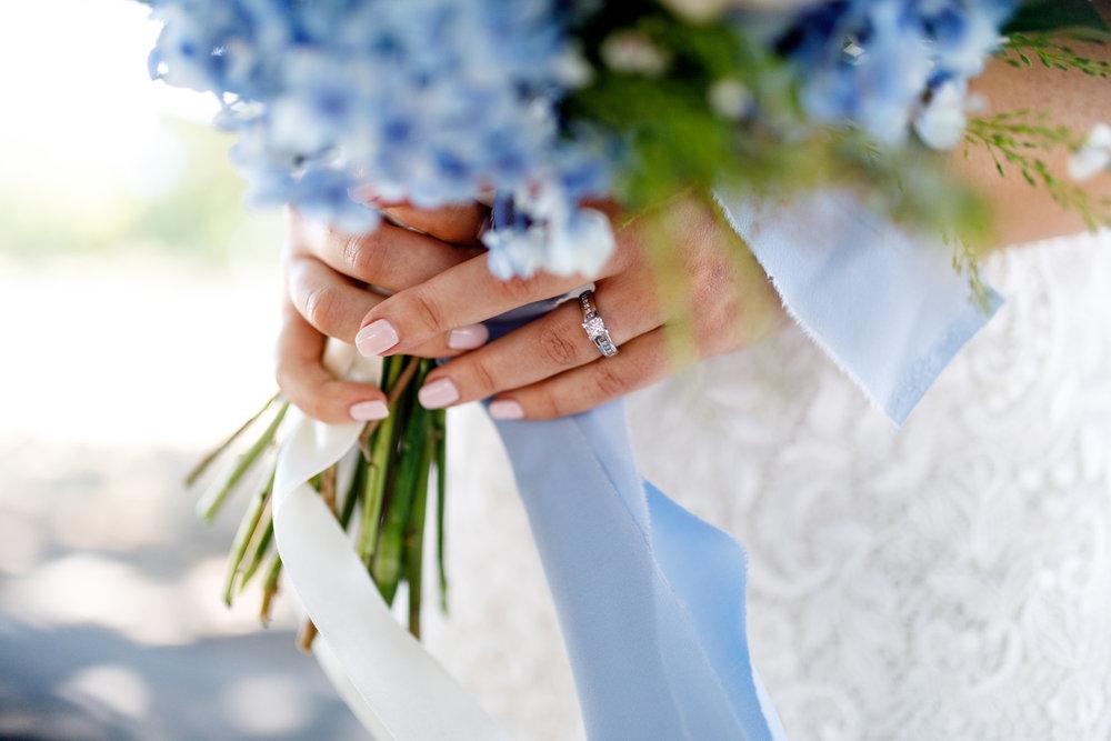 Gorgeous nails | Astra bride Lucy | Maggie Sottero Georgia | The Old Church Napier | Eva Bradley Photography |