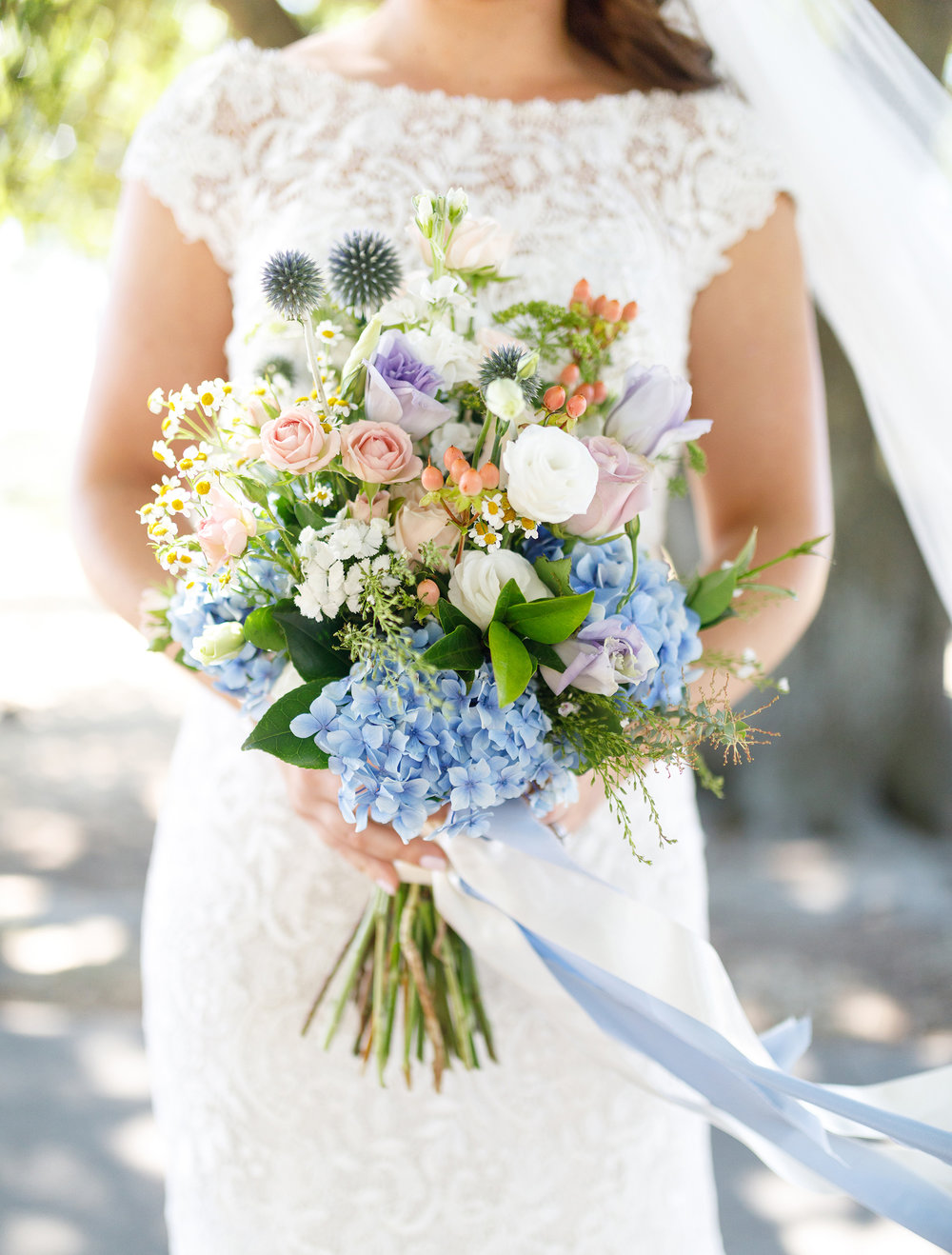 Stunning flowers | Astra bride Lucy | Maggie Sottero Georgia | The Old Church Napier | Eva Bradley Photography |