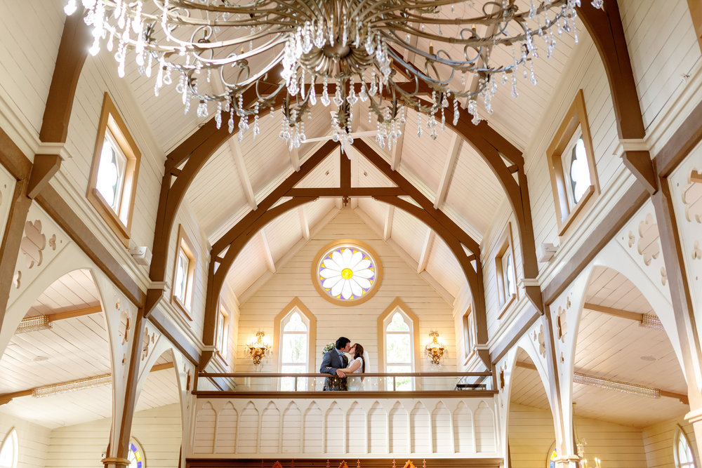 The old church chandelier | Astra bride Lucy | Maggie Sottero Georgia | The Old Church Napier | Eva Bradley Photography |