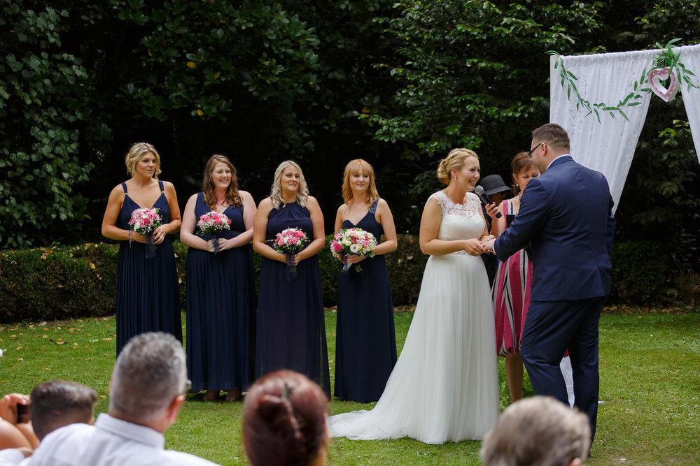 Vows | Astra bride Shanelle Simpson | Venue Tatum Park | Maggie Sottero Patience Lynette | Photographer Paul Howell |