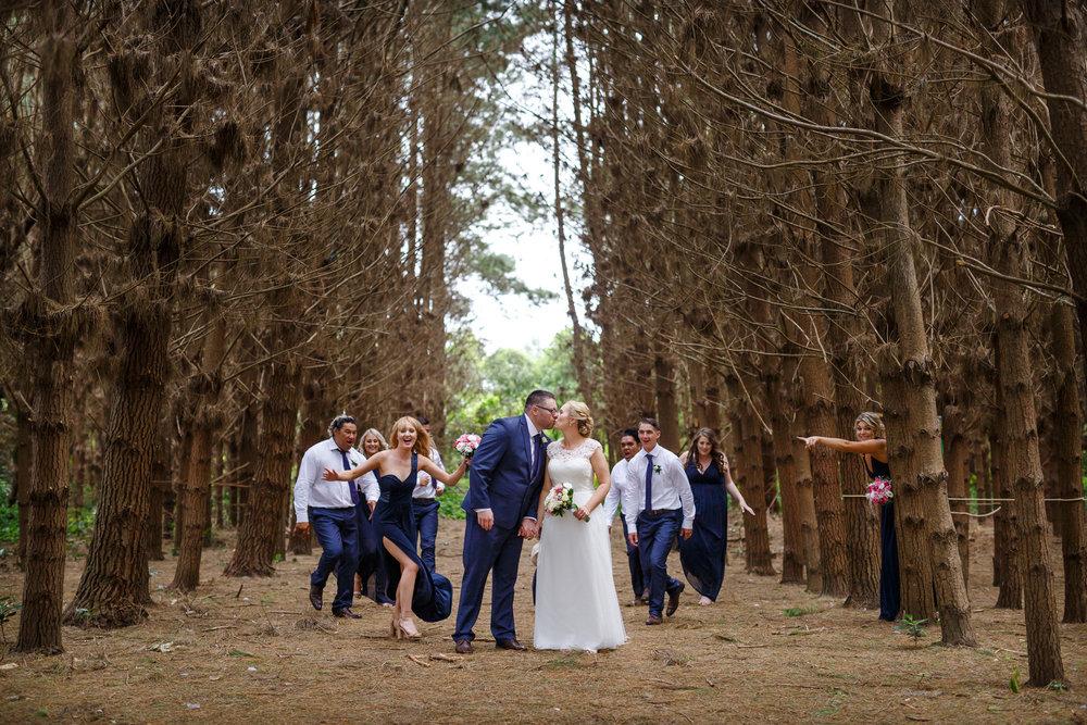 Fun shot | Astra bride Shanelle Simpson | Venue Tatum Park | Maggie Sottero Patience Lynette | Photographer Paul Howell |