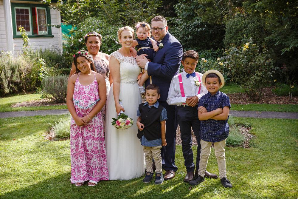 Beautiful family group | Astra bride Shanelle Simpson | Venue Tatum Park | Maggie Sottero Patience Lynette | Photographer Paul Howell |