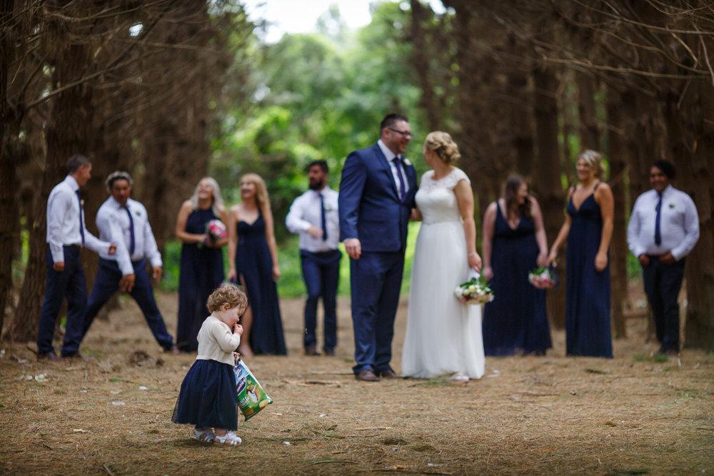 Great group shot | Astra bride Shanelle Simpson | Venue Tatum Park | Maggie Sottero Patience Lynette | Photographer Paul Howell |