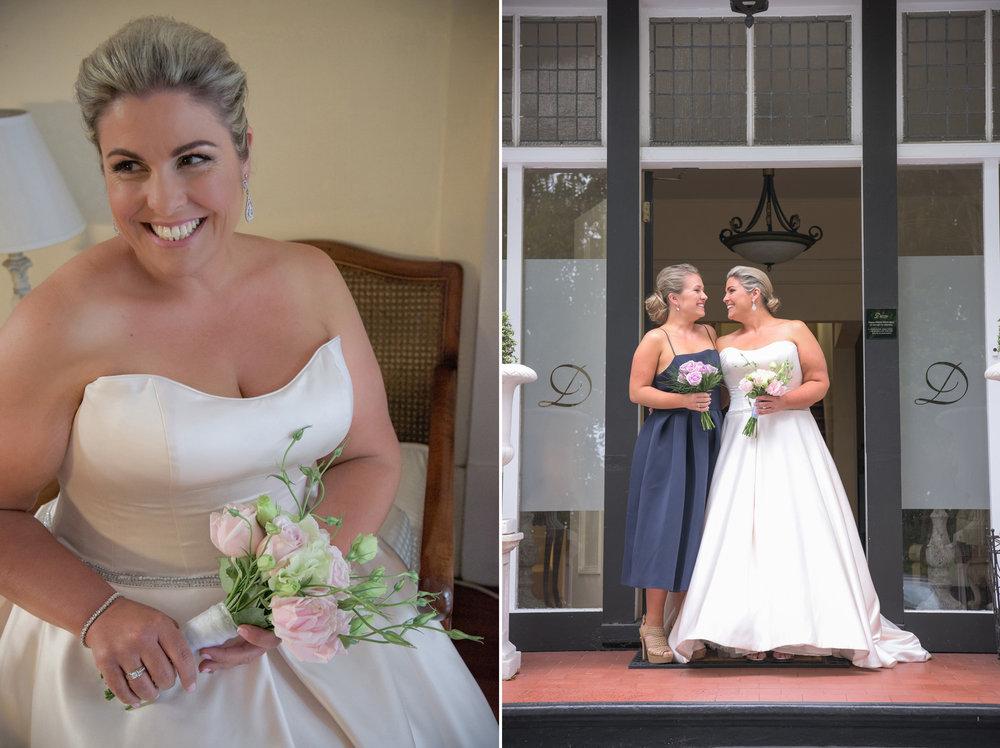 Debbie ready | Astra Bride Debbie | Cornwall Park | Maggie Sottero Taiya | Wink Photography |