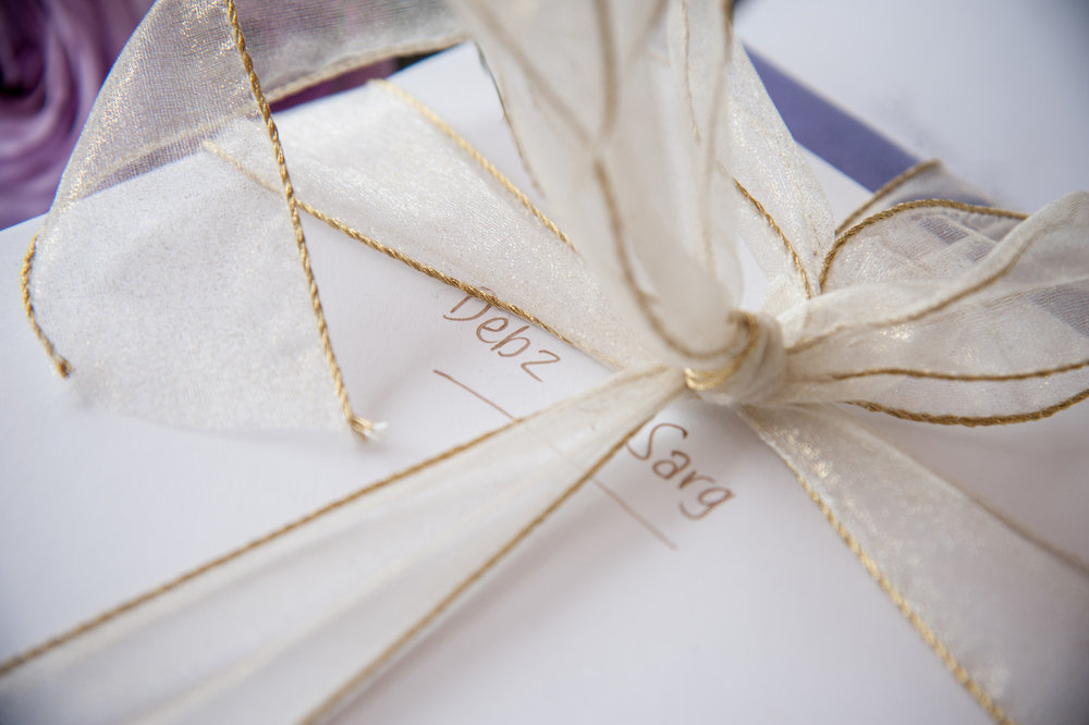 Gift bows | Astra Bride Debbie | Cornwall Park | Maggie Sottero Taiya | Wink Photography |