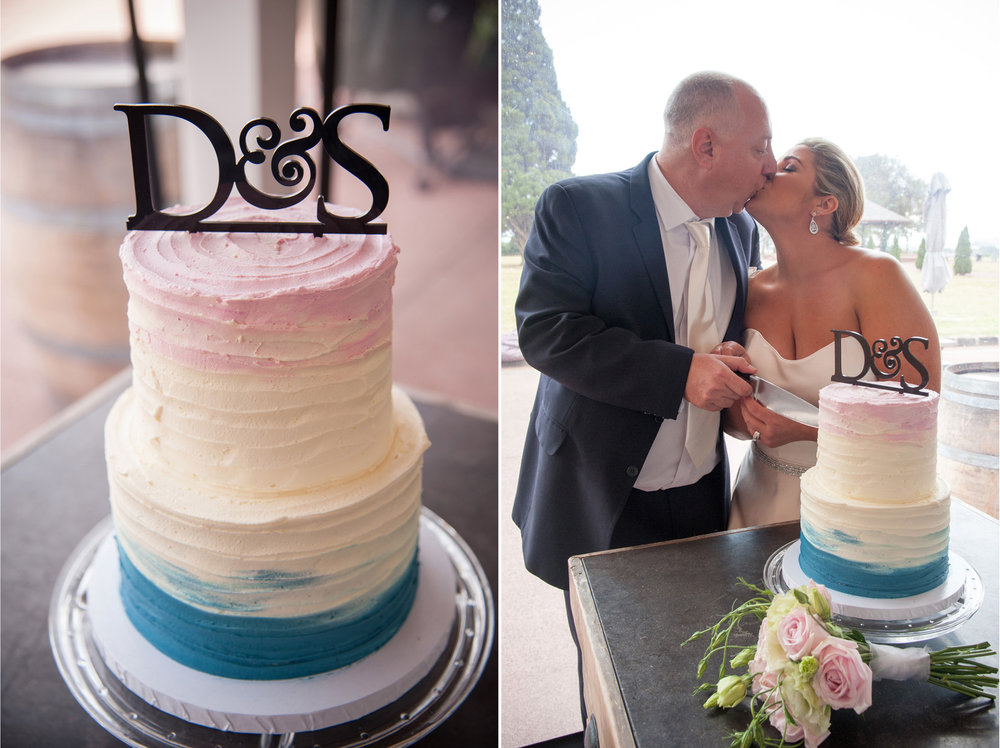 Cake by Bondie cupcakes | Astra Bride Debbie | Cornwall Park | Maggie Sottero Taiya | Wink Photography |