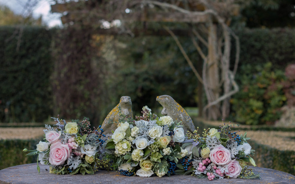 Vintage florals by MIss Daisy | Astra bride Kelly | Maggie Sottero Karena Royale | Sarnia Park | Steve Brown wedding Photography |