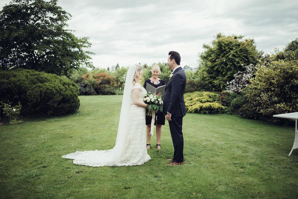 Ceremony | Astra bride Sara | Sottero & Midgley Diana | Mount Roy and Alta Tarns Wanaka | Grey Area Productions |