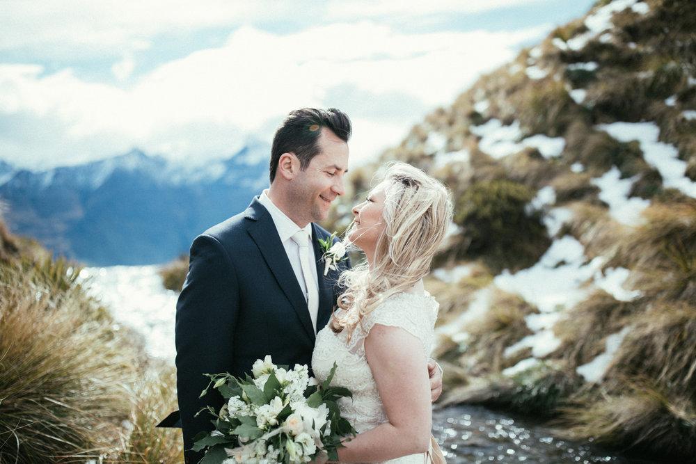 Mountain shoot | Astra bride Sara | Sottero & Midgley Diana | Mount Roy and Alta Tarns Wanaka | Grey Area Productions |