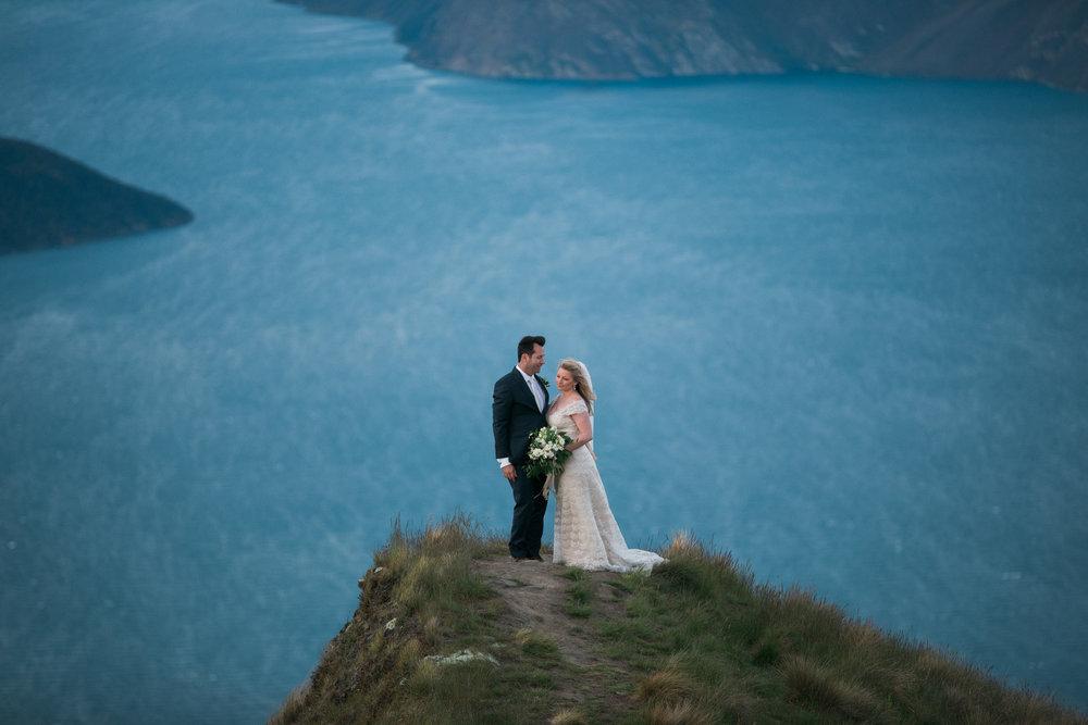 Mountain photo | Astra bride Sara | Sottero & Midgley Diana | Mount Roy and Alta Tarns Wanaka | Grey Area Productions |