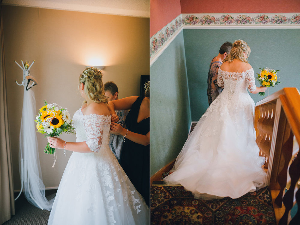 Ready bride Astra bride Ruth | Maggie Sottero Nadia | Wallaceville House | The Woods Photography |