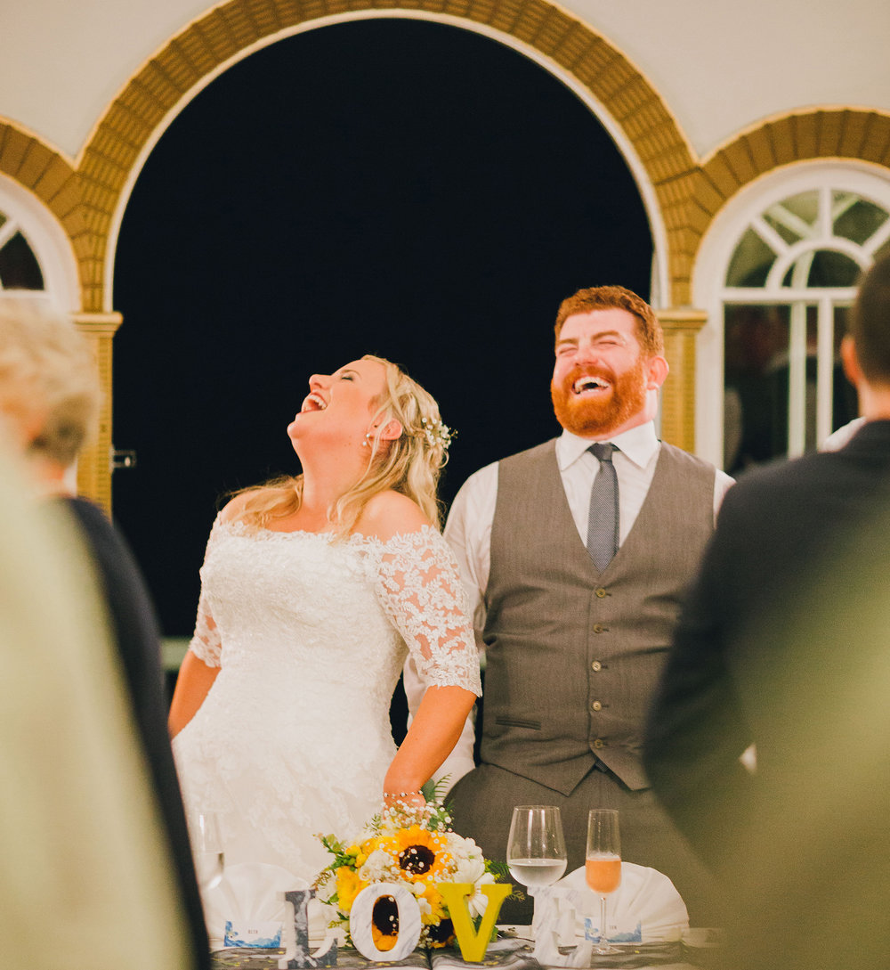 Fun couple | Astra bride Ruth | Maggie Sottero Nadia | Wallaceville House | The Woods Photography |