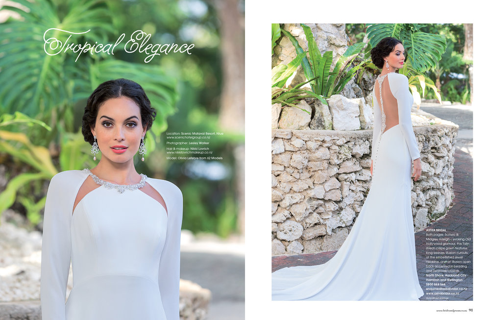 Maggie Sottero Arleigh | As seen in Bride and Groom magazine issue 94 |
