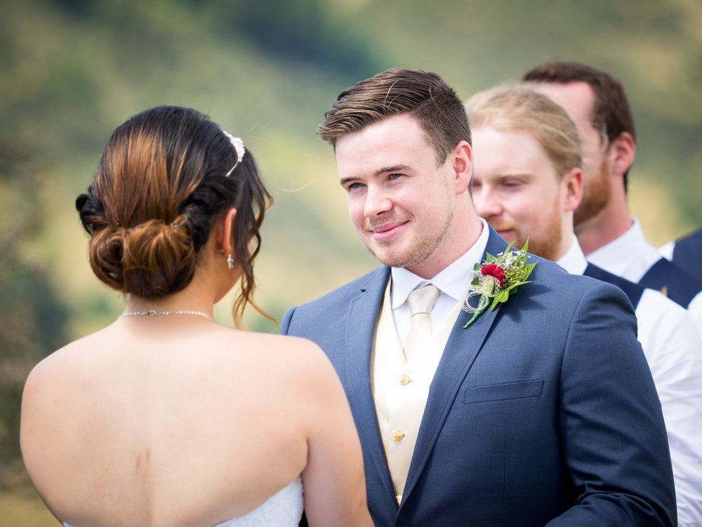 Vows | Astra bride Lu | Maggie Sottero Mindi | Lookout Lodge Wanaka | Peanut Productions Photography