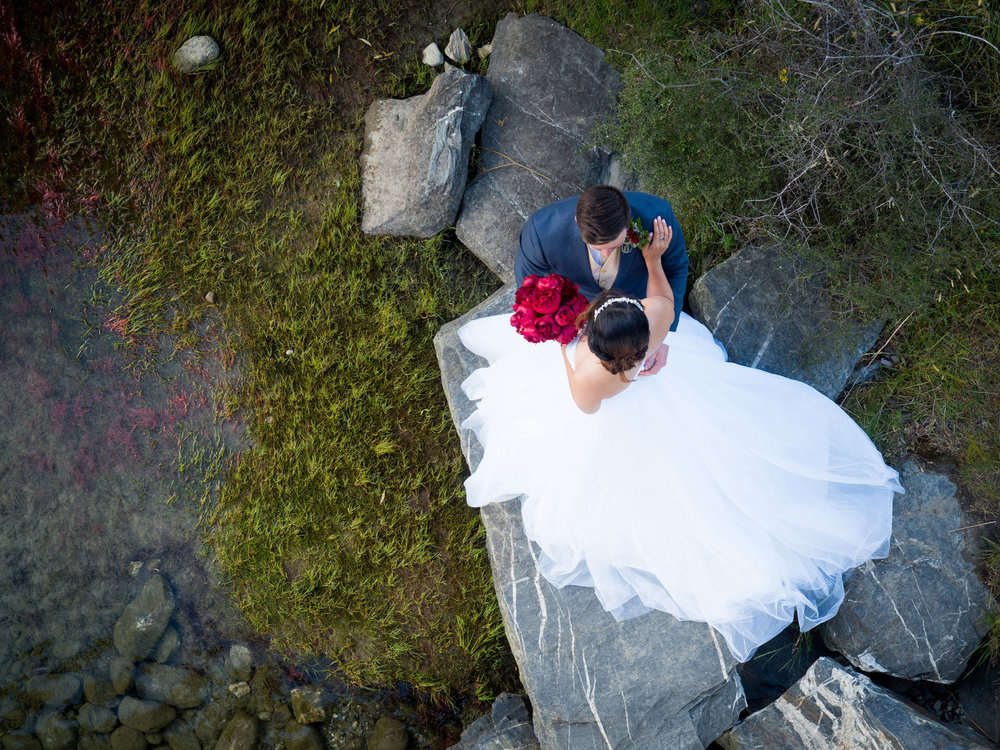Gorgeous full skirted gown | Astra bride Lu | Maggie Sottero Mindi | Lookout Lodge Wanaka | Peanut Productions Photography
