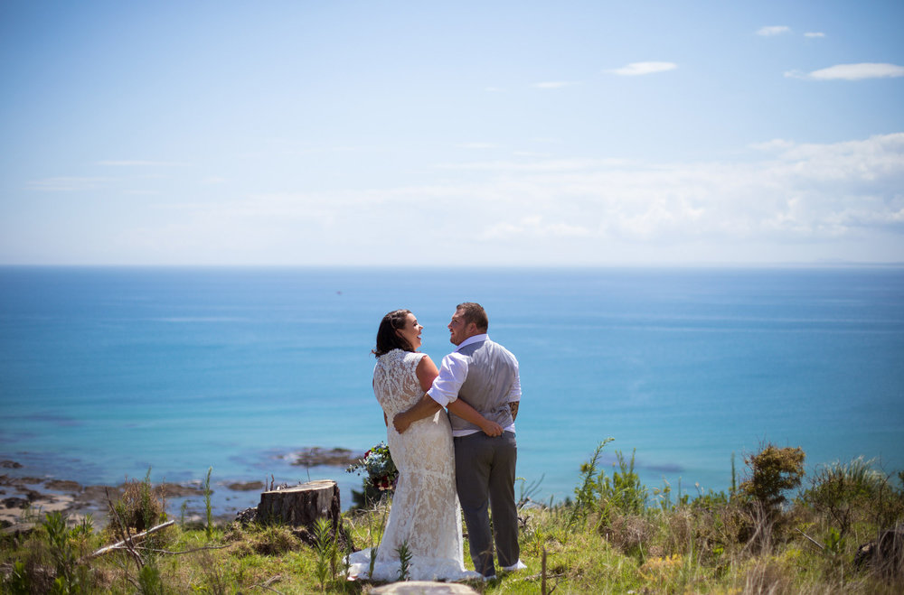 Stunning Ahipara view | Astra bride Martine | Maggie Sottero Londyn | Sante Fe at Ahipara | Nicole Jecentho Photographer