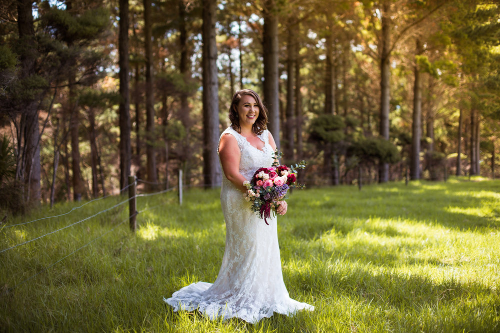 Relaxed after the wedding | Astra bride Martine | Maggie Sottero Londyn | Sante Fe at Ahipara | Nicole Jecentho Photographer