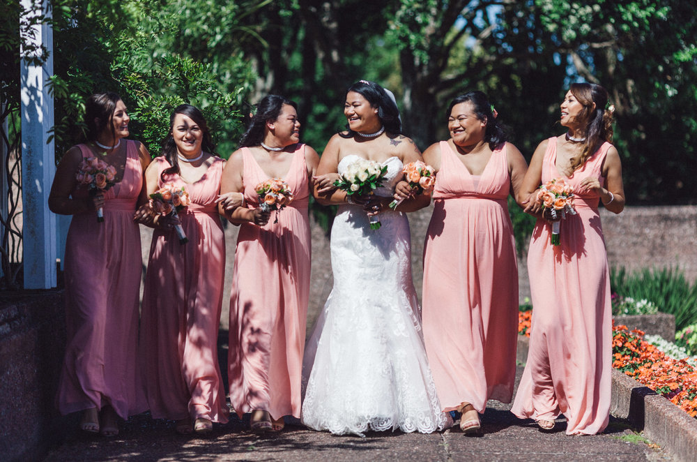Samoan family wedding | Maggie Sottero Rosamund from Astra Bridal | www.borrowedandblue.kiwi