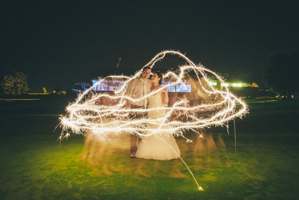 Night photography wedding inspiration | Astra Bride Carol | Sottero and Midgely Cassandra from Astra Bridal | NZ Bride | www.borrowedandblue.kiwi