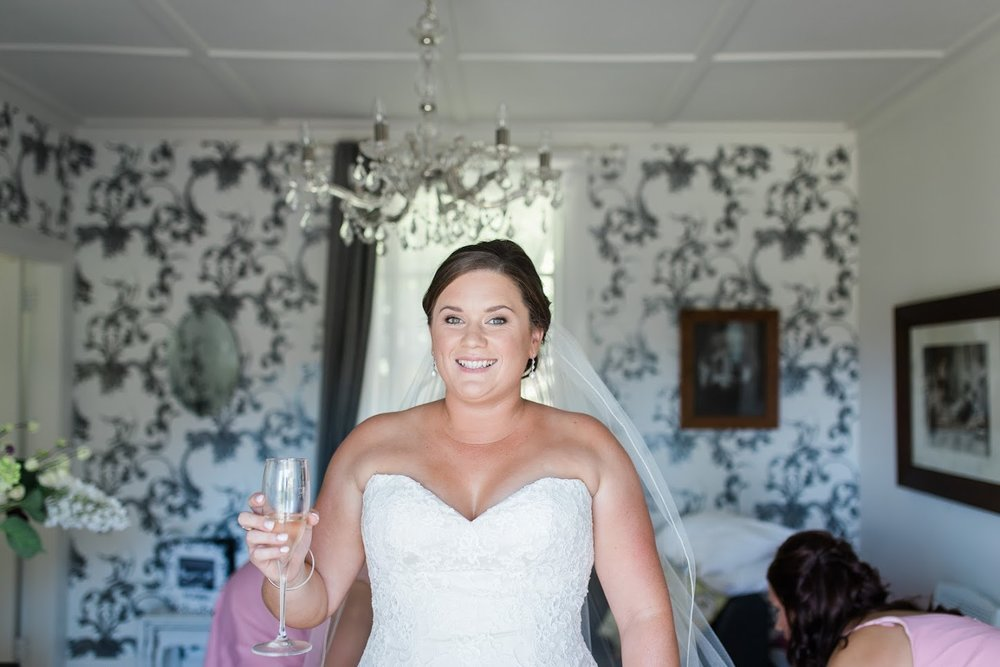 Toasting the day | Astra Bride Karla | Te Awa Winery wedding | Maggie Sottero Chesney | Ash PHotography
