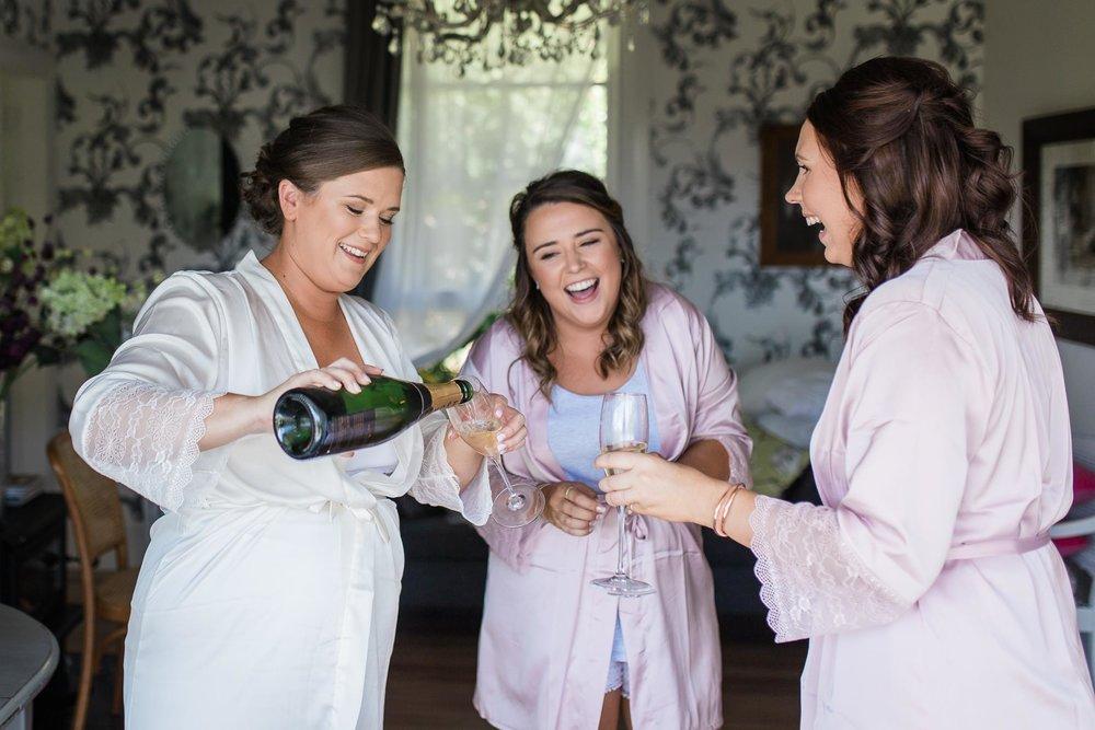 Toasting the bride | Astra Bride Karla | Te Awa Winery wedding | Maggie Sottero Chesney | Ash PHotography