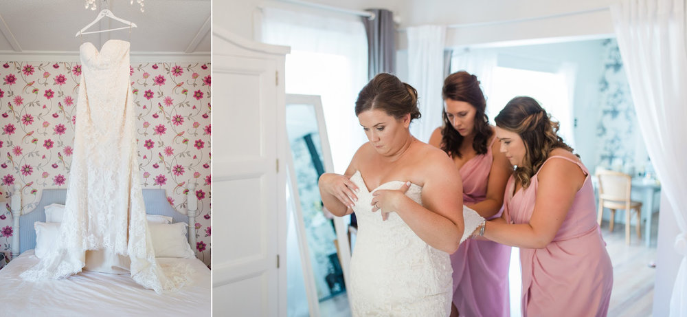 Dressing the bride | Astra Bride Karla | Te Awa Winery wedding | Maggie Sottero Chesney | Ash PHotography