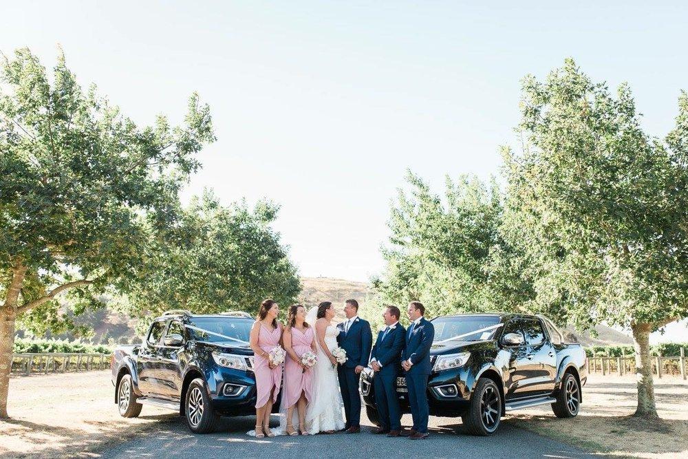 Wedding utes | Astra Bride Karla | Te Awa Winery wedding | Maggie Sottero Chesney | Ash PHotography