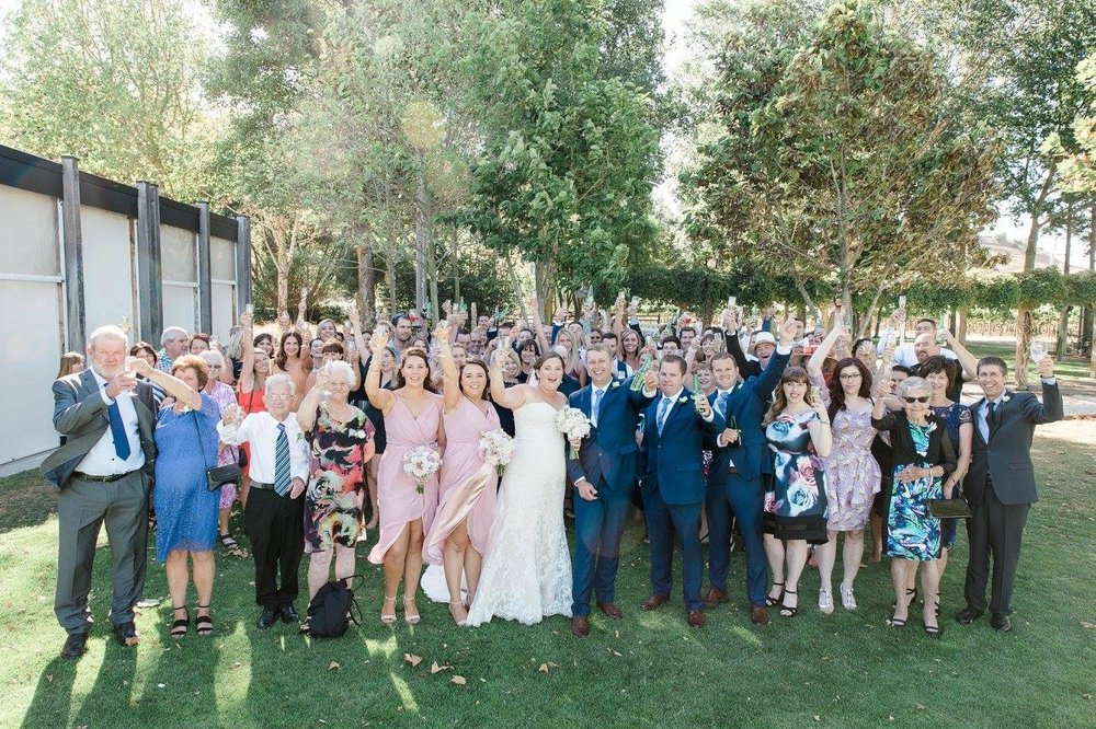 Full guest list | Astra Bride Karla | Te Awa Winery wedding | Maggie Sottero Chesney | Ash PHotography