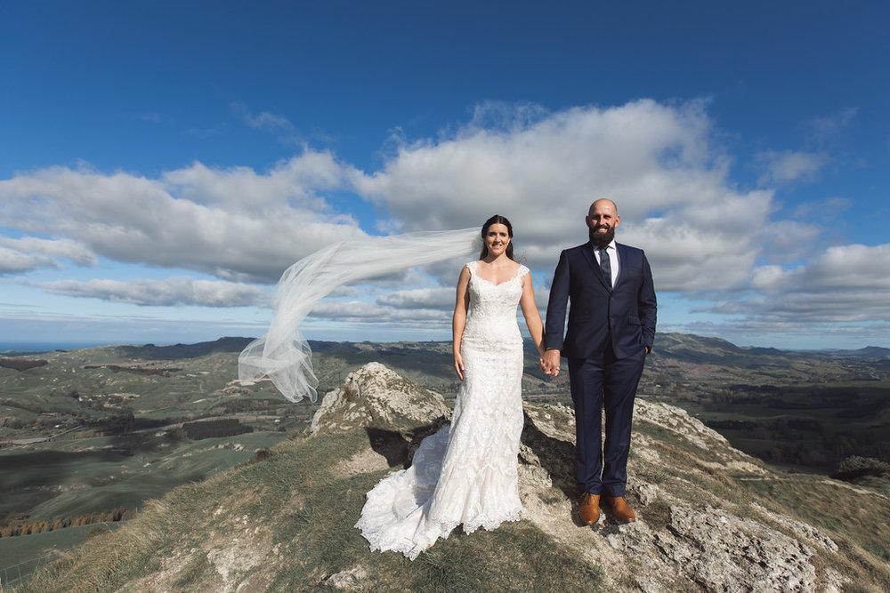 Te Mata peak | Astra bride Erin | Christina Rossi 4246 | Te Awa Winery | Josh Neilson Photography