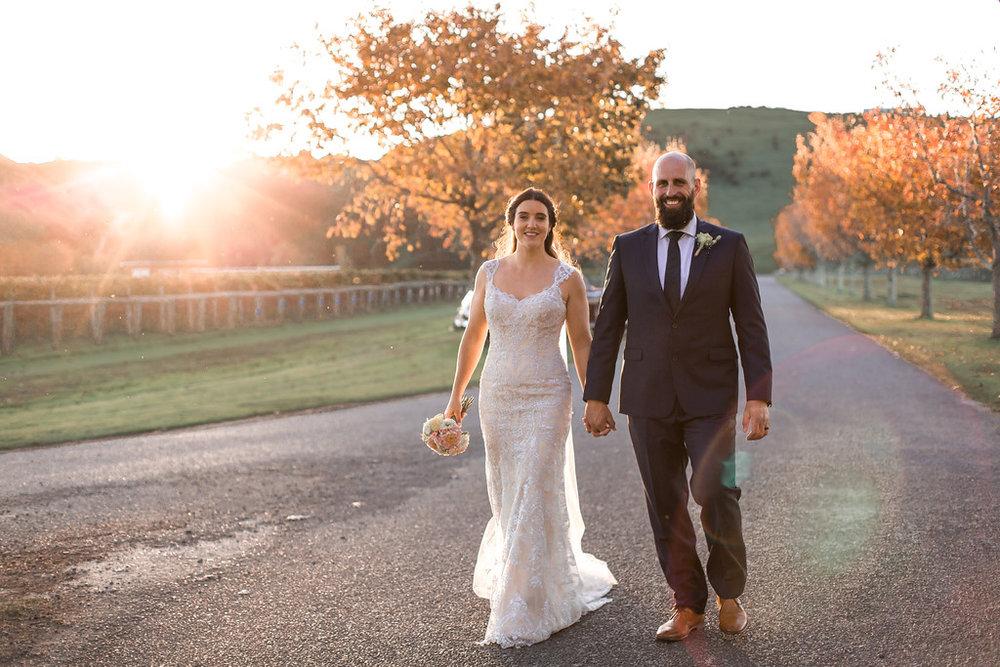 Te Awa avenue | Astra bride Erin | Christina Rossi 4246 | Te Awa Winery | Josh Neilson Photography