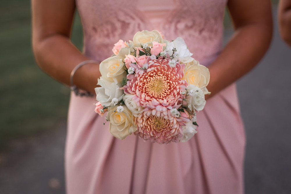Blush florals | Astra bride Erin | Christina Rossi 4246 | Te Awa Winery | Josh Neilson Photography