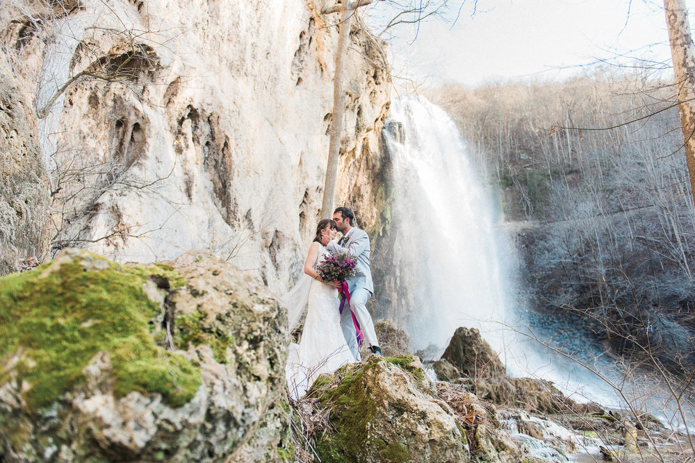 Bohemian waterfall shoot | Melissa Durham Photography