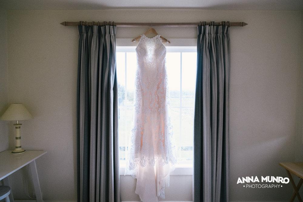 Lace Sheath Dress | Astra Bride Renee | Maggie Sottero Winifred | Brackenridge Country Retreat & Spa | Anna Munro Photography