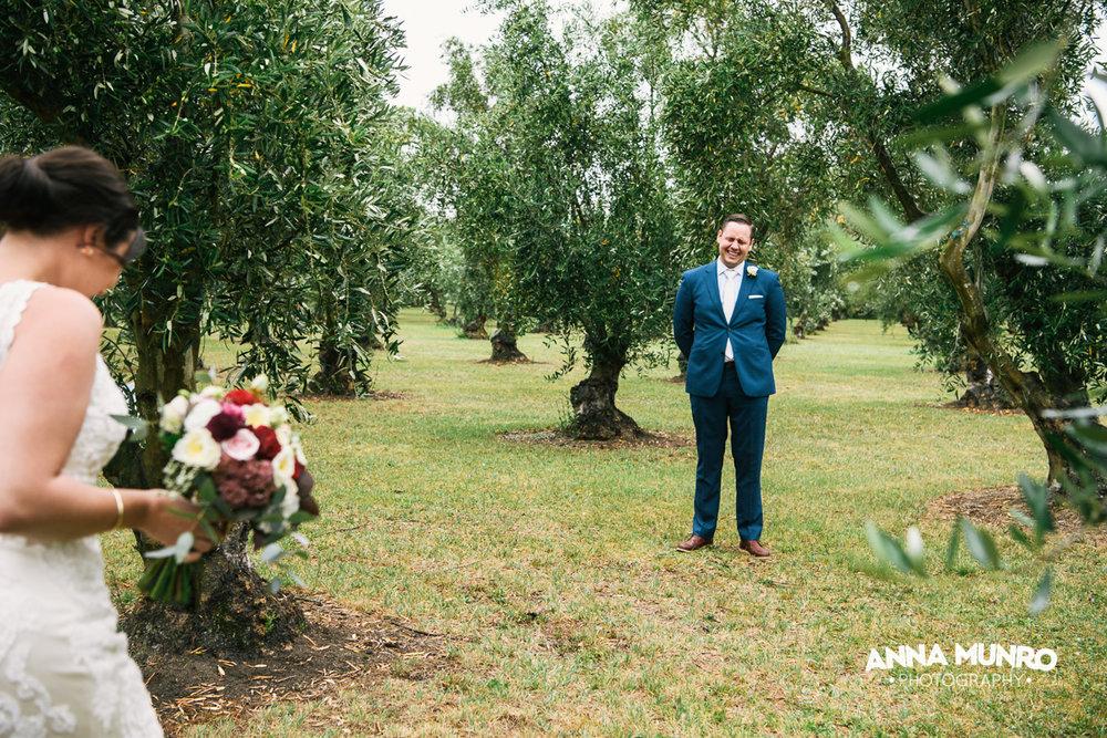 Olive Grove Backdrop | Astra Bride Renee | Maggie Sottero Winifred | Brackenridge Country Retreat & Spa | Anna Munro Photography